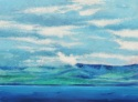 Clouds, Land & Ocean at Ring of Kerry, Ireland, # 1 (Cat. No. 491) (thumbnail)