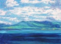 Clouds, Land & Ocean at Ring of Kerry, # 3 (Cat. No. 493) (thumbnail)