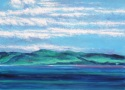 Clouds, Land & Ocean at Ring of Kerry, Ireland, # 4 (Cat. No. 494) (thumbnail)
