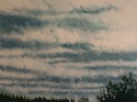 Sky, Clouds and Trees near Dusk, #2 (Cat. No. 482)