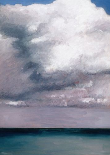 Clouds over Ocean at Normandy (Cat. No. 206)