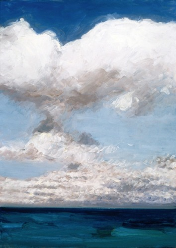 Clouds over Ocean at Normandy (Cat. No. 211)