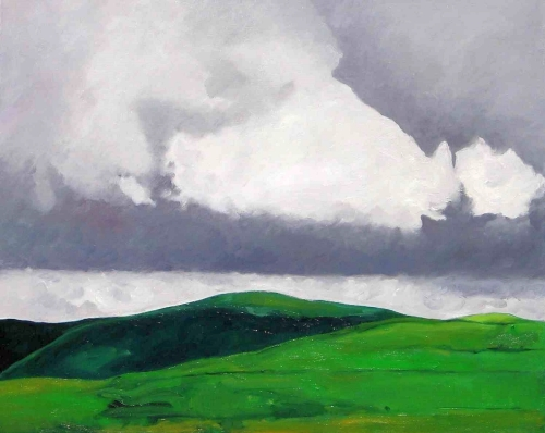 Clouds over Cantal Mountains, #2 (Cat. No. 362)