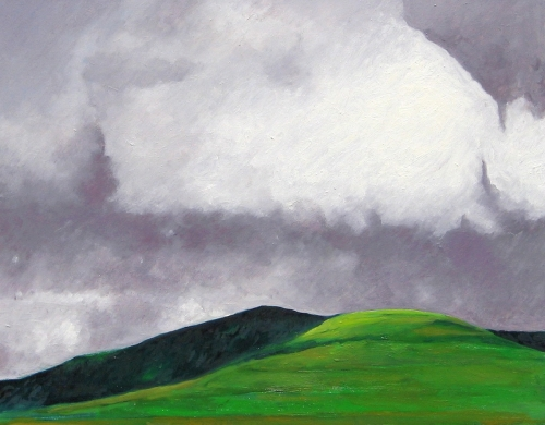 Clouds over Cantal Mountains, #3 (Cat. No. 363)