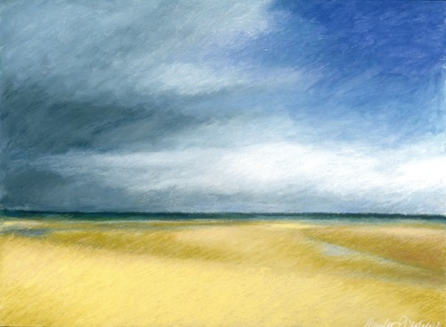 Clouds and Beach at Normandy (Cat. No. 207)