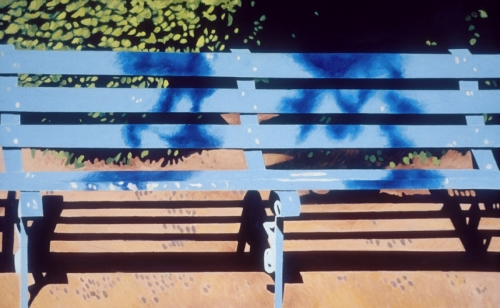 Park Bench in Aurillac (Cat. No. 305)