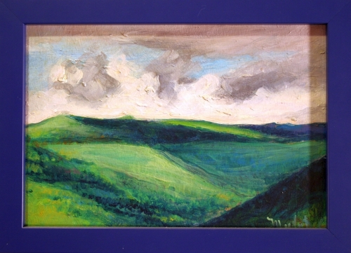 Clouds over Cantal Mountains, #1 (Cat. No. 357)