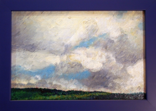 Clouds over Cantal Mountains, #2 (Cat. No. 358)