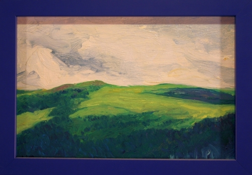Clouds over Cantal Mountains, #3 (Cat. No. 359)