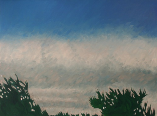 Sky, Clouds and Trees near Dusk, #3 (Cat. No. 483)