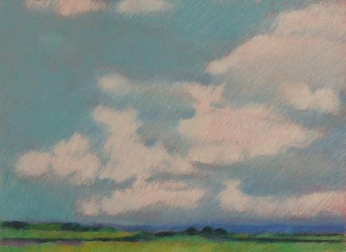 Landscape with Clouds, France (Cat. No. 509)