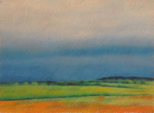 Landscape in France (Cat. No. 512)