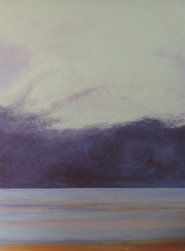 Cloud and Ocean at Normandy Beach (Cat. No. 530)