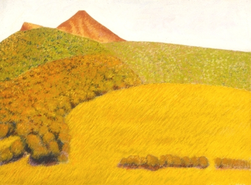 Landscape in Cantal Mountains, #3 (Cat. No. 401)