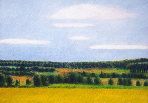 Landscape in the Auvergne (Cat. No. 412)