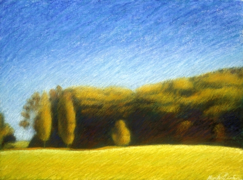Landscape in La Feuillade (Cat. No. 409)