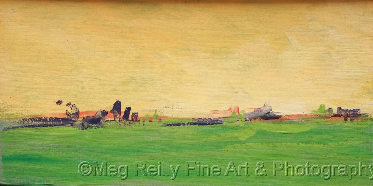 acrylic, painting, abstract, landscape, original art (large view)
