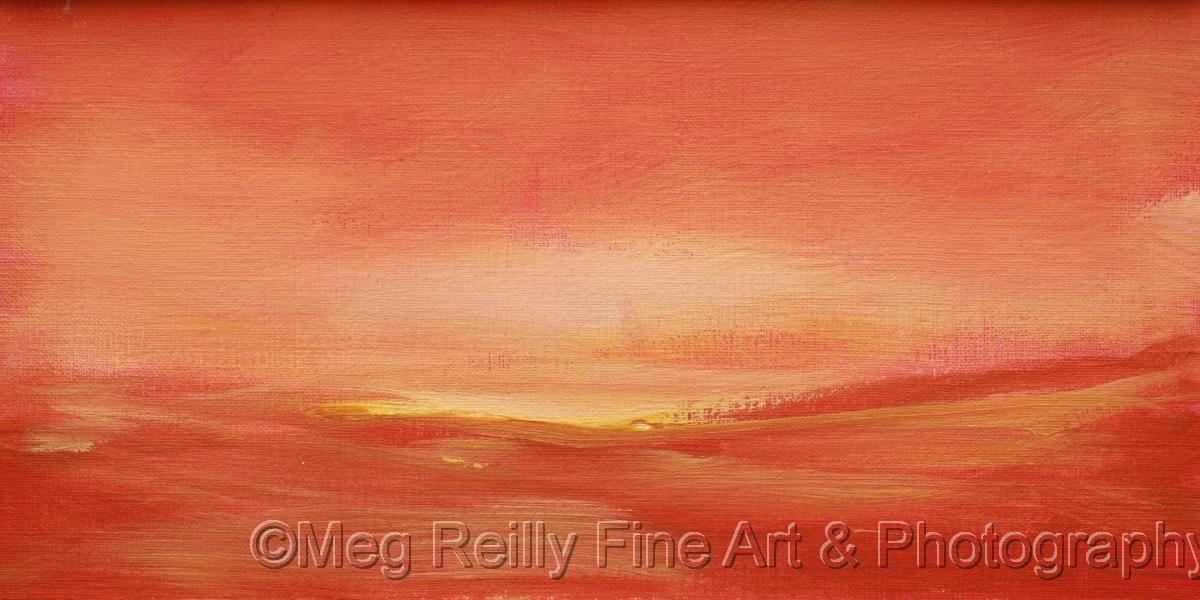 landscape, abstract, original painting, original art (large view)