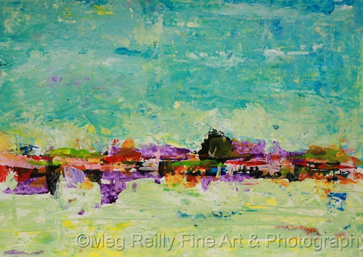 landscape, abstract, original painting, original art, seascape, cityscape (large view)