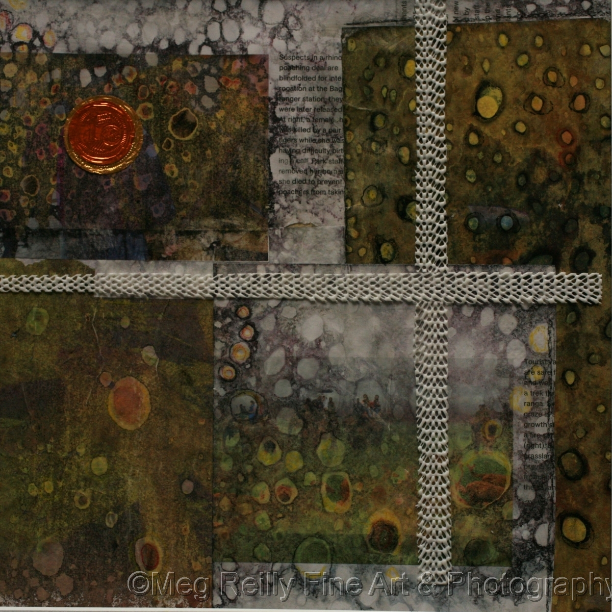 abstract, original painting, original art, mixed media, collage (large view)