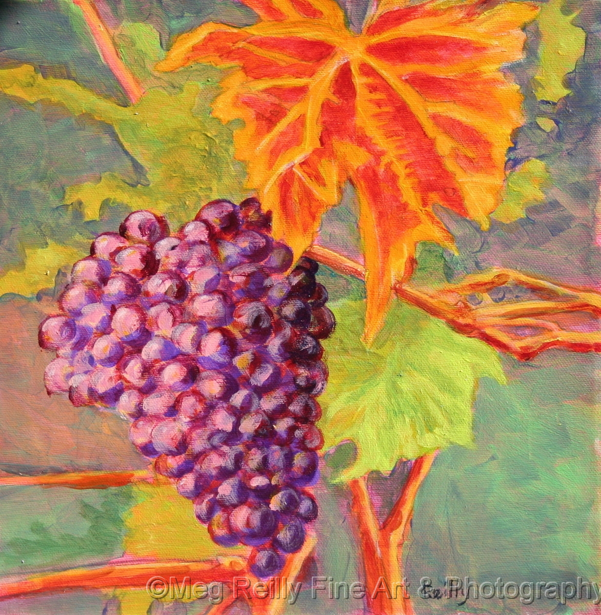 Grape Cluster (large view)