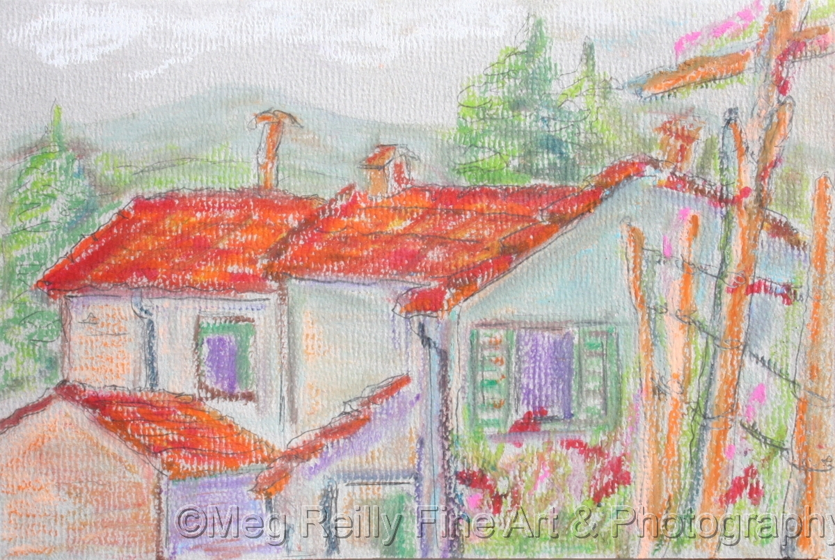 Cembroni Houses from Malfalda's Garden (large view)