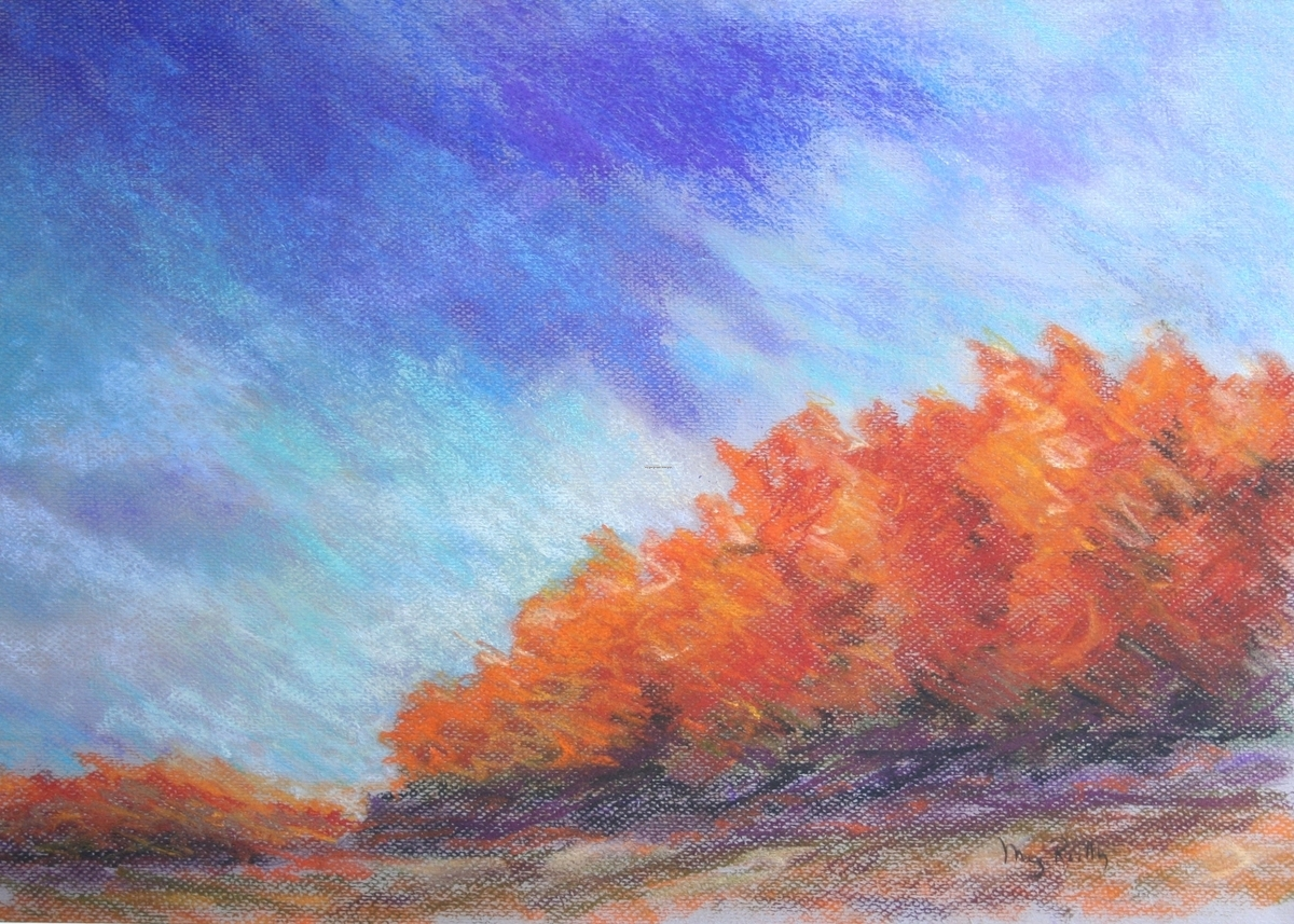 Fall Colors - Pastel (large view)