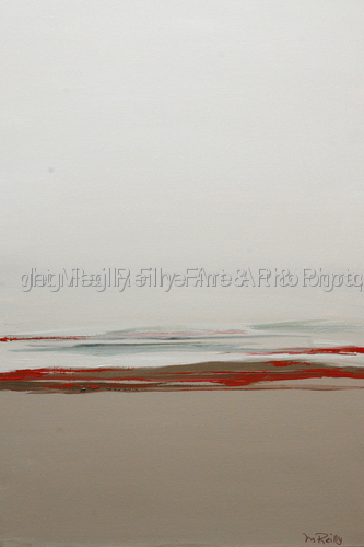 Diptych Beach in Fog 2 (large view)