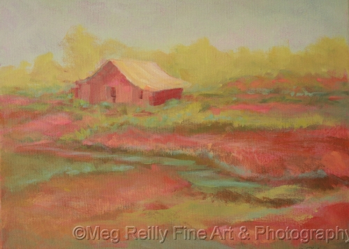 Red Barn #327 by Meg Reilly Fine Art & Photography