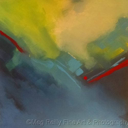 Fire Meets Ice #340 by Meg Reilly Fine Art & Photography