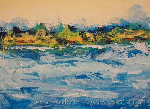 Wind on the Bay 8 #356 by Meg Reilly Fine Art & Photography