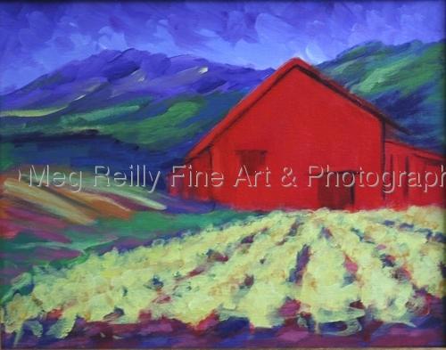 Red Barn 2 -Napa (large view)