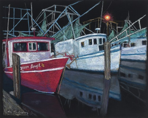 Trawlers at Rest