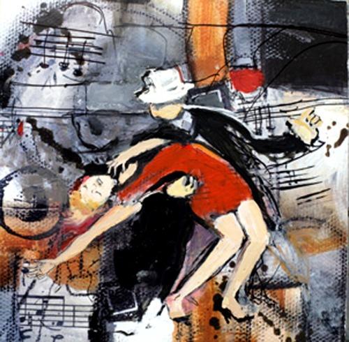 Tango Dip by Diana Mendoza Fine Art