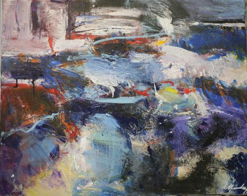 Tidal Surge by Diana Mendoza Fine Art