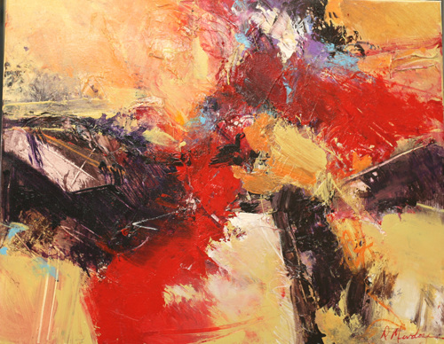 Red Sands by Diana Mendoza Fine Art