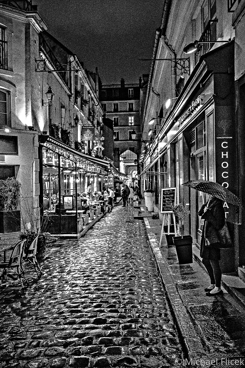Rainy Night in Paris (large view)