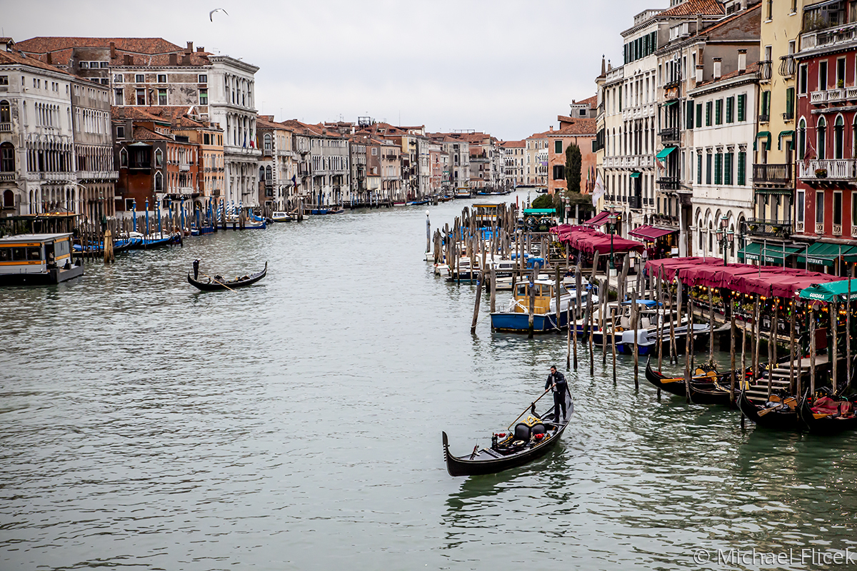 Grand Canal from Rialto (large view)