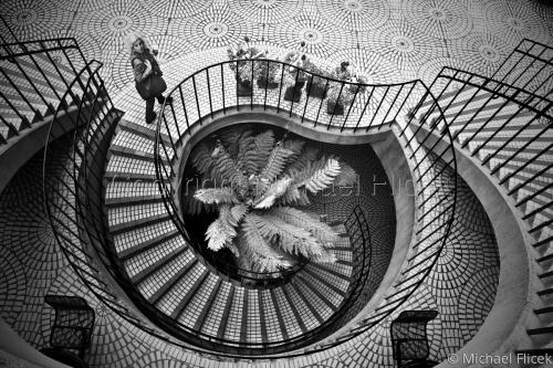 Embarcadero Stairs by Michael Flicek