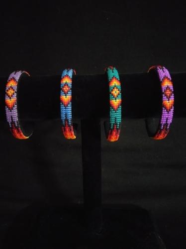 """1/4"""" Bracelets by Marvin Gabaldon Bead Artist"""