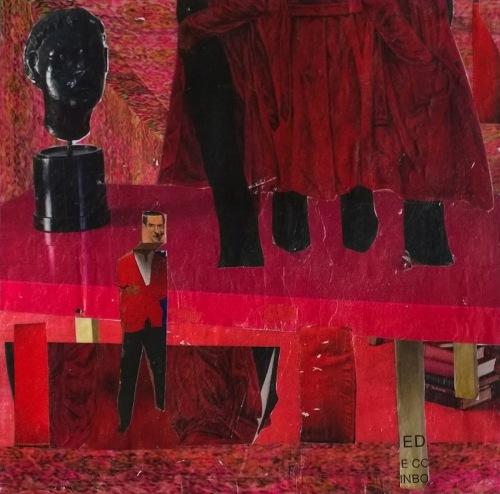 tapestry in red by M A D E L I N E . G A R R E T T