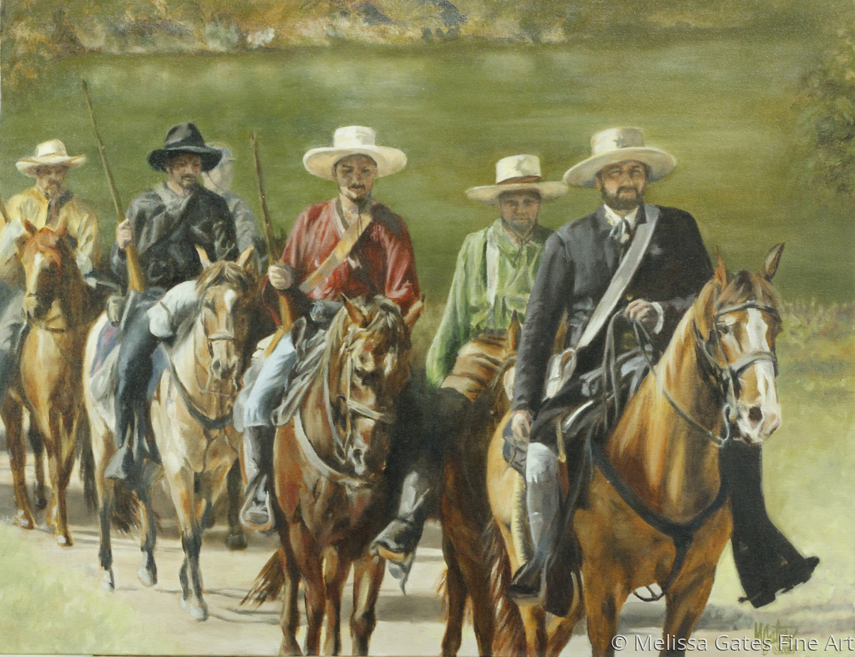 MG145 Texas Rebels  (large view)