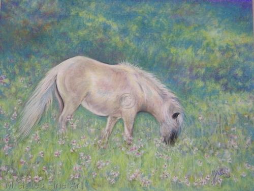 MG152 Primrose Spring Fine Art Giclee Print  (large view)