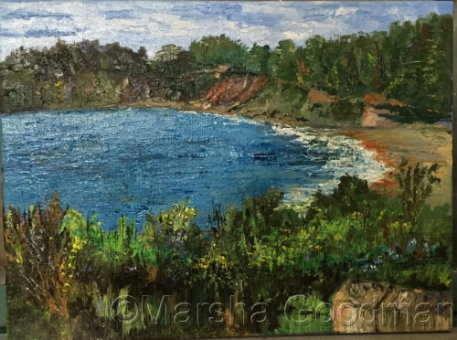 Mendocino from The Little River Inn by Marsha Goodman