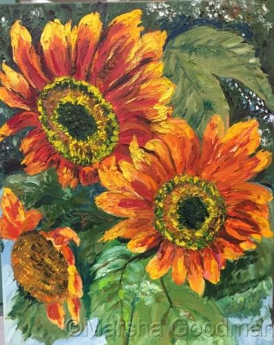 Silva's Flowers by Marsha Goodman