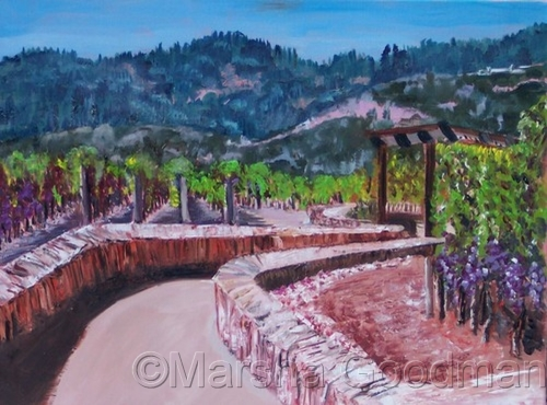 Visiting Mondavi by Marsha Goodman