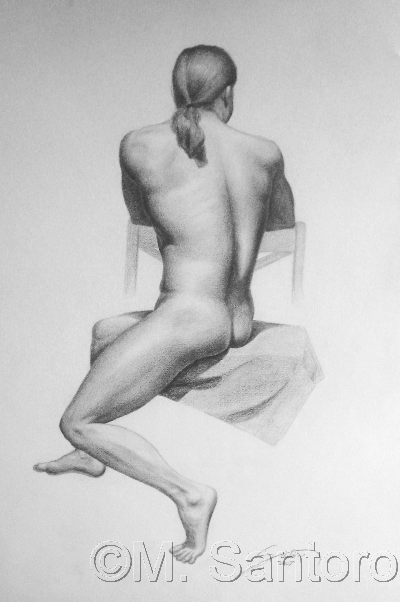 Male Figure Study (large view)