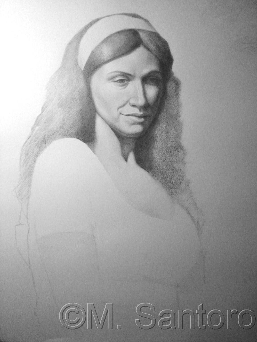 Portrait Study (large view)