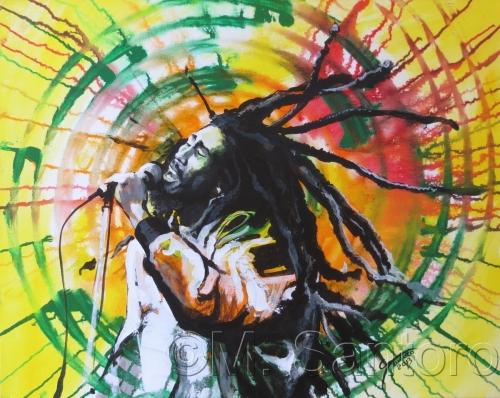 Bob Marley by Mario G. Santoro