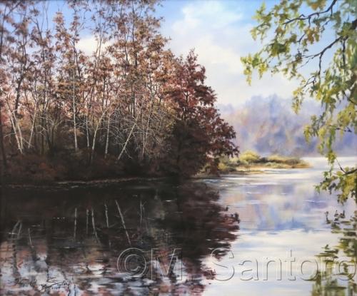 Silver Lake by Mario G. Santoro